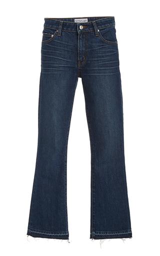 Medium derek lam 10 crosby dark wash dark wash gia cropped flare jean