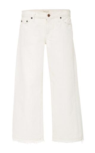 Medium simon miller white lamere frayed jean
