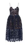 Azalea Sweetheart Midi Dress by SELF PORTRAIT Now Available on Moda Operandi