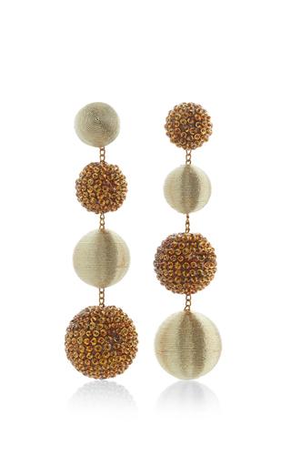 Medium rebecca de ravenel gold le bon bons disco earrings