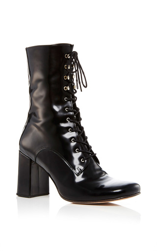 Medium maryam nassir zadeh black black emanuelle lace up boot