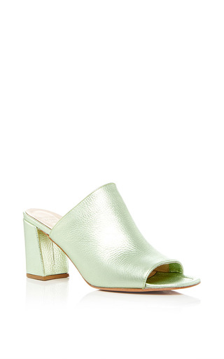 Medium maryam nassir zadeh green penelope mule