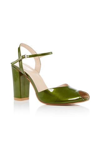 Medium maryam nassir zadeh green iris heel