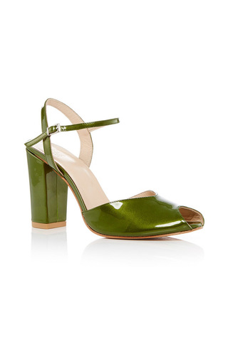 Medium maryam nassir zadeh green iris heel