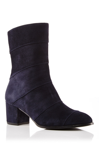 Medium carmelinas navy suede allegra bootie