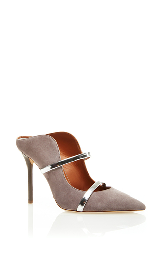 Medium malone souliers light grey maureen mule 1
