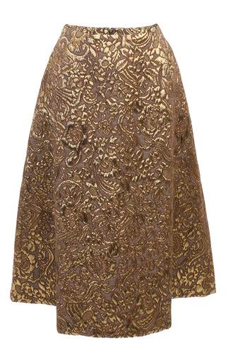 Medium baum und pferdgarten gold shari skirt