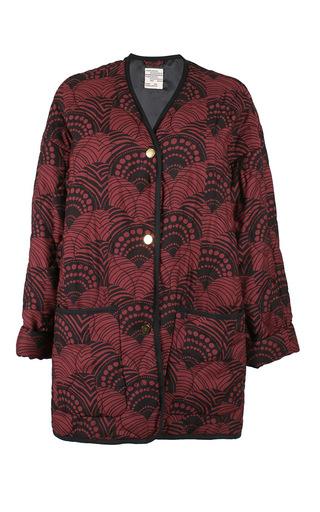 Medium baum und pferdgarten print dodie coat