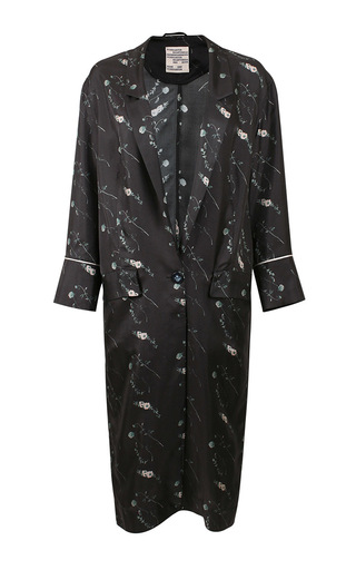 Medium baum und pferdgarten floral dohna robe coat