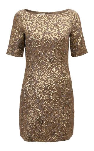 Medium baum und pferdgarten gold alexandra dress