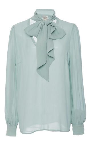 Medium baum und pferdgarten light blue maiya blouse