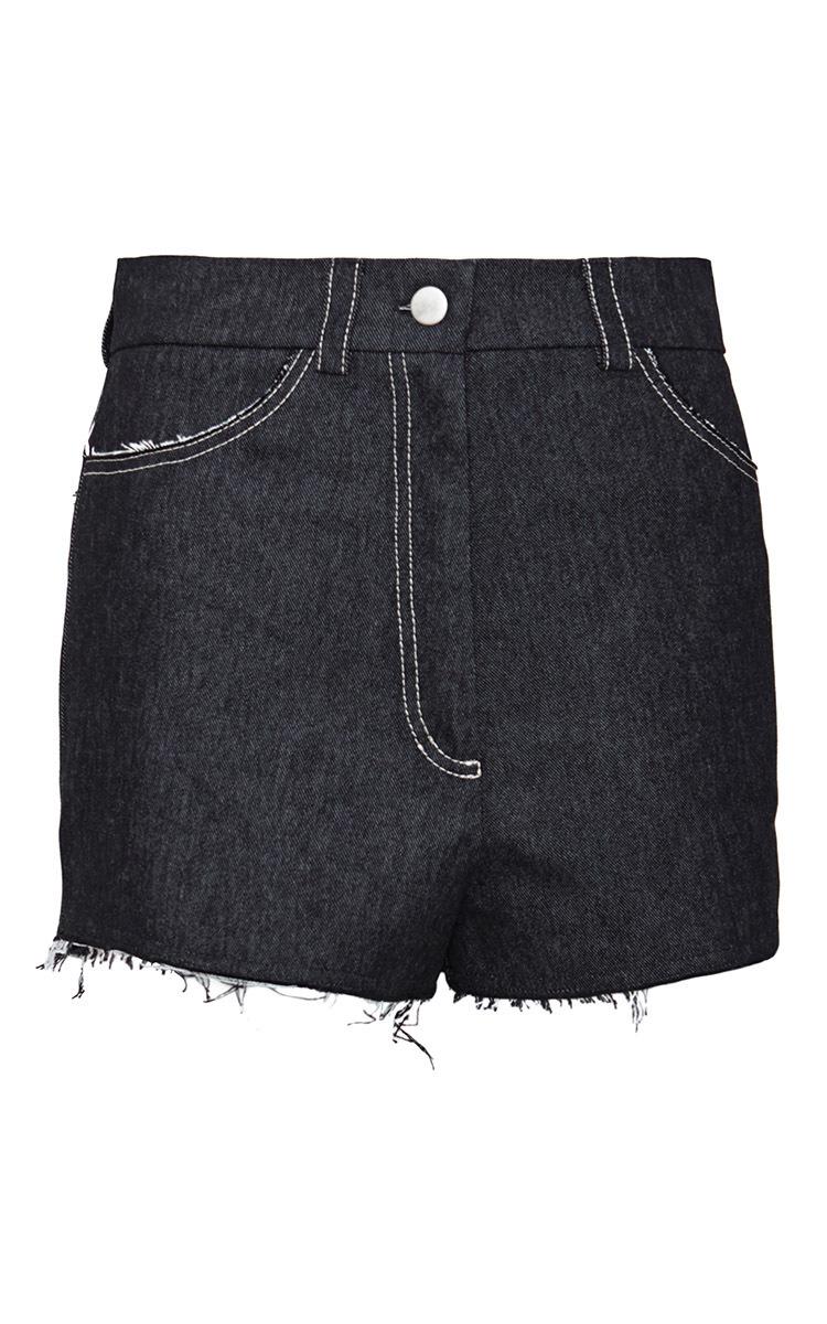 6139bb8ab85 High Rise Denim Shorts by Kalmanovich | Moda Operandi