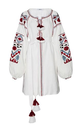 Medium march11 white kilim mini dress