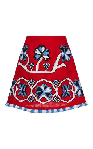 Medium march11 red red aliona mini skirt