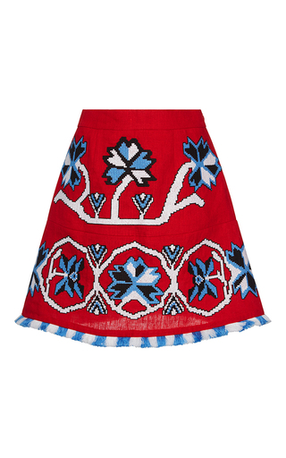 Medium march11 red red aliona mini skirt
