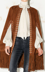 Charu Suede Cape by TALITHA Now Available on Moda Operandi