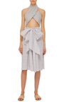 Cotton Wrap Top by TOME Now Available on Moda Operandi