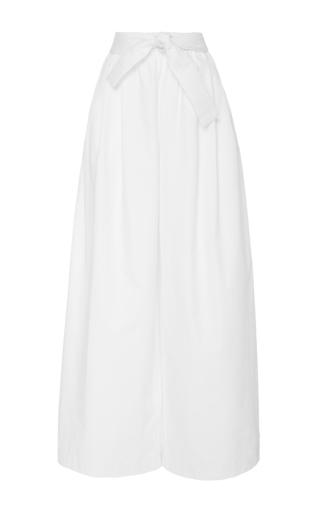 Medium tome white white cotton twill karate pants