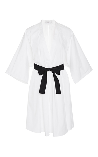 Medium tome white v neck belted tunic