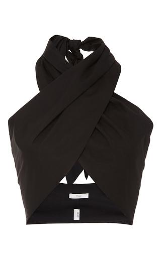 Medium tome black wrap top