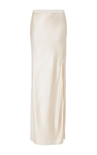 Medium nili lotan ivory maya maxi skirt