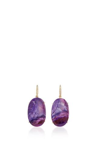 Medium lauren k purple suggelite joyce earrings