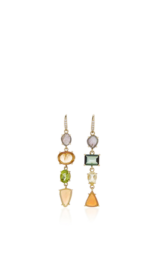 Medium lauren k multi multi color joyce earrings