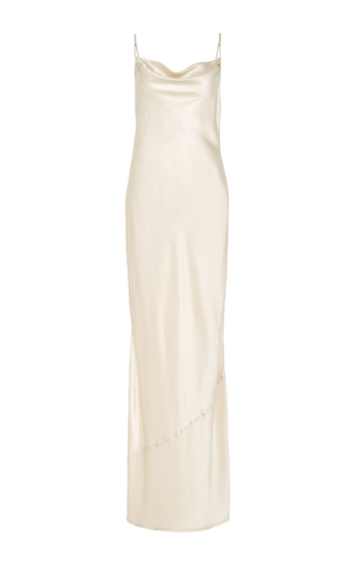 Medium nili lotan ivory vintage ivory alexa slip dress