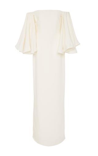 Medium houghton ivory gamila flared sleeve dress