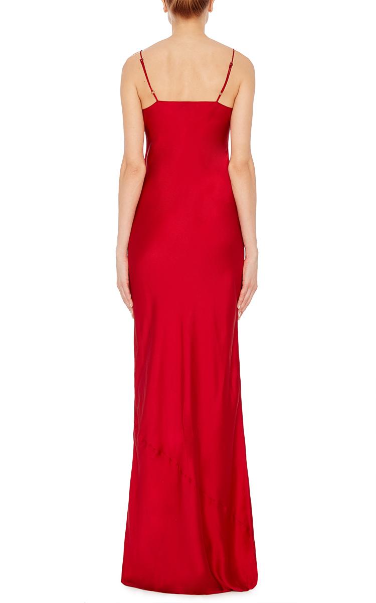 aa94d74fe931 NILI LOTANSpanish Red Cami Slip Dress. CLOSE. Loading. Loading