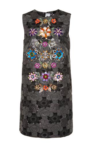 Medium gem silver ricordo jacquard dress