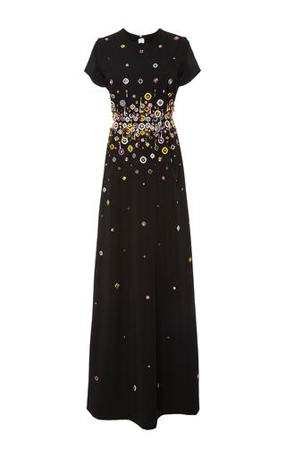 Medium gem black lucrezia embellished gown