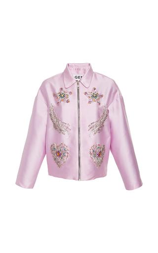 Medium gem light pink morgana embellished jacket