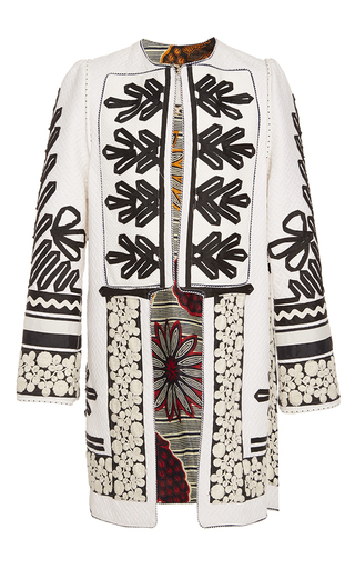 Medium alix of bohemia white the coco coat