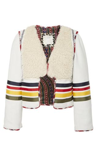 Medium alix of bohemia off white the harper jacket