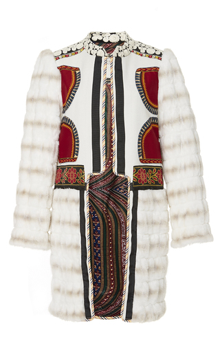 Medium alix of bohemia off white the siberia coat