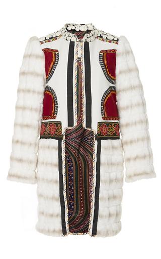 Medium alix of bohemia off white the siberia coat