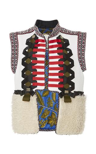 Medium alix of bohemia off white the heidi vest
