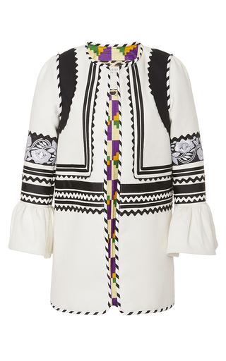 Medium alix of bohemia black white the nellie coat