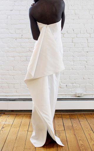 Medium rosie assoulin white butterfly gown
