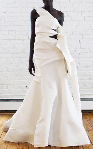Medium rosie assoulin white bandeau gown