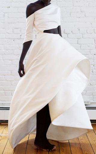 Medium rosie assoulin white charlie gown