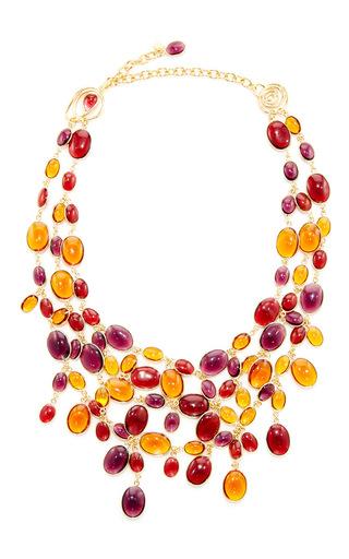 24k Gold-plated Multi-stone Necklace Loulou De La Falaise gKXqKgsnF