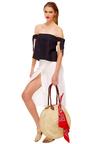 Olivia Straw Tote by HEIDI WYNNE Now Available on Moda Operandi