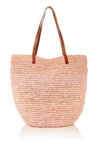 St Barths Raffia Beach Bag by Heidi Wynne | Moda Operandi