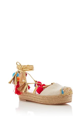 Medium alameda turquesa nude chennai flatform sandal