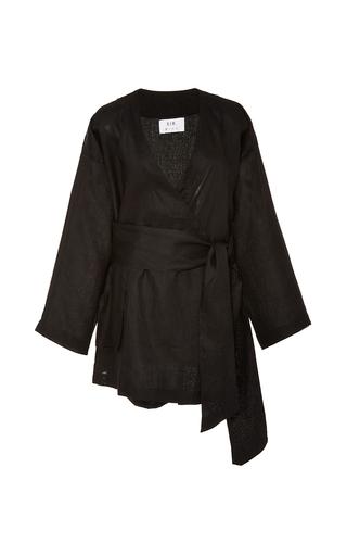Medium sir the label black anouk kimono dress