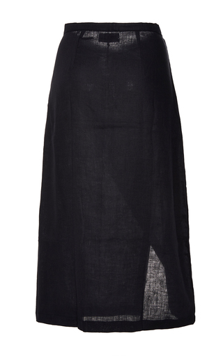 Black Brooke Wrap Skirt by SIR THE LABEL Now Available on Moda Operandi