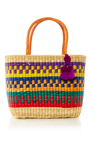 Medium nannacay multi madagascar maha tote