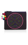 Black Shipibo Clutch by NANNACAY Now Available on Moda Operandi